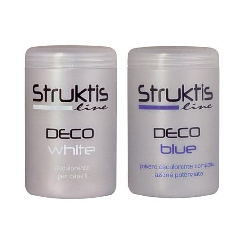 DECO BLUE - DECO WHITE