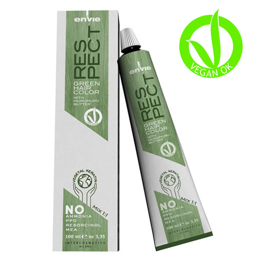 RESPECT - ENVIE VEGAN GREEN HAIR COLOR - ENVIE