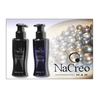 NACRÈO MAN - Black Pearl , ezüst GEL - PRECIOUS HAIR