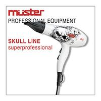 Sušilec za lase SKULL linija - MUSTER
