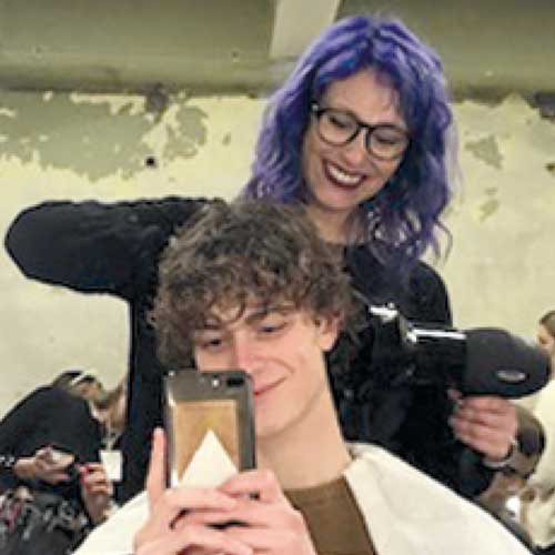 Antonella penata rambut - WELLA PROFESSIONALS
