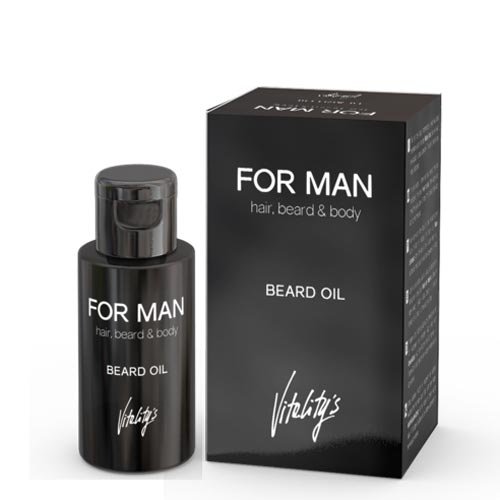 POUR HOMME : BARBE HUILE - VITALITYS