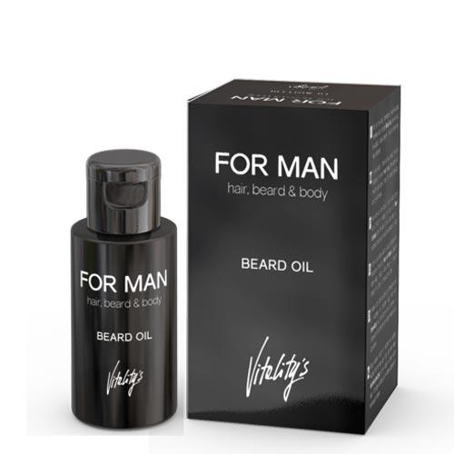 FOR MANN: SKJEGG OLJE - VITALITYS